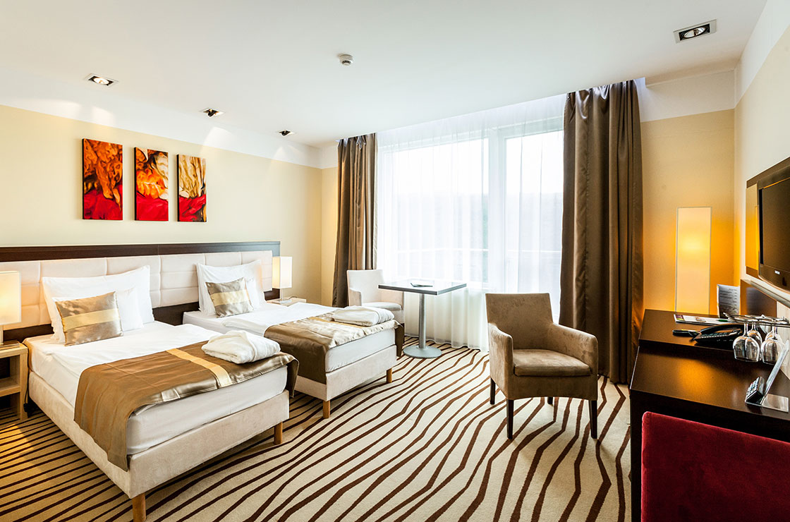 Standard double room - Residence Ózon Conference & Wellness Hotel **** superior